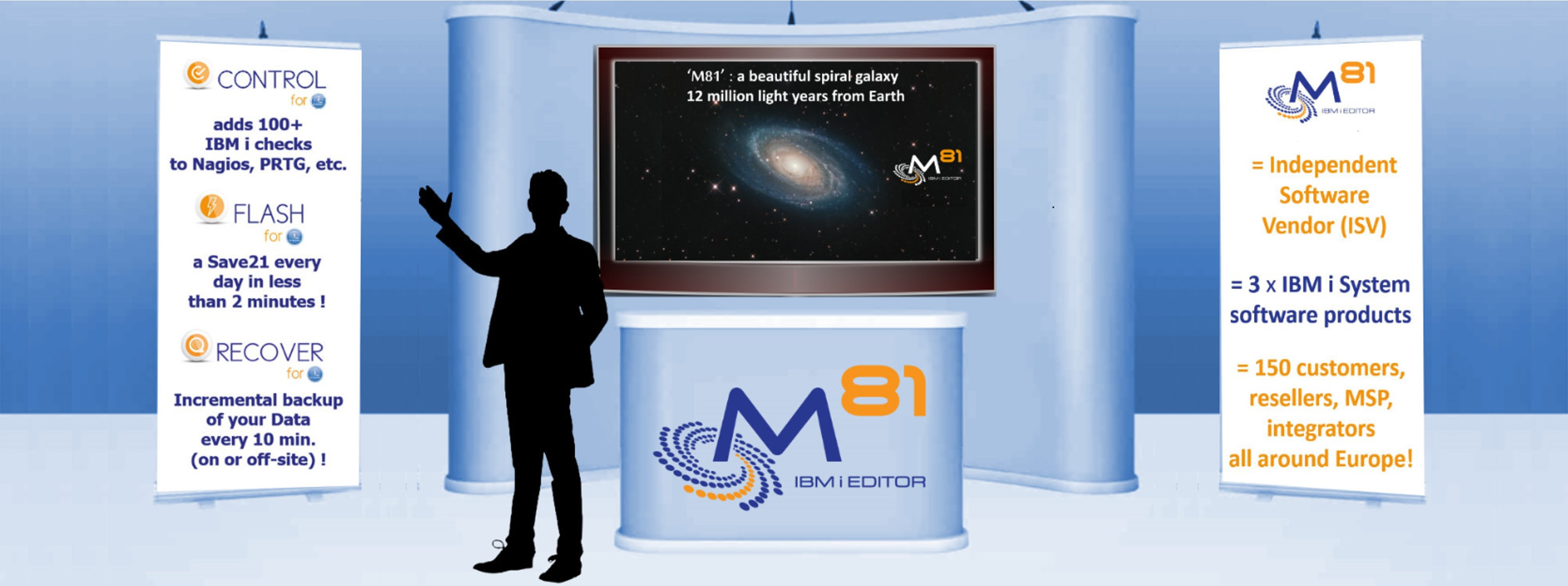 M81 stand vTechU IBM 2020