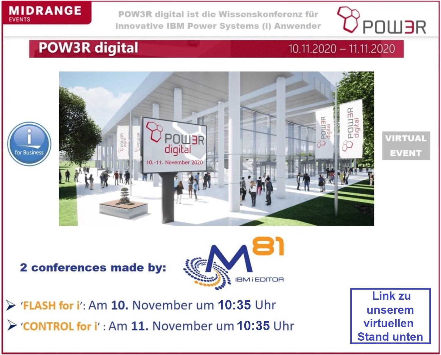 Digital Pow3r virtual event