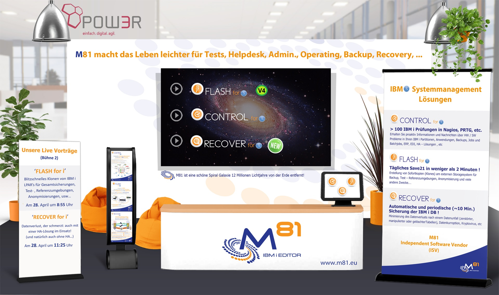 M81 booth